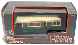 Bristol L6A ECW Single Deck Bus Maidstone & District Motor Services Ltd 1/76 OOC Corgi 97852  - foto principal 2