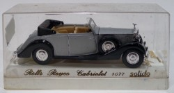 Rolls Royce Conversivel prata 1939 1/43 Solido Made in France  - foto principal 3