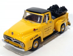 Pickup Ford 1955 Caterpillar Branded 1/43 Matchbox Collectibles YIS-02  - foto principal 1