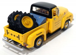 Pickup Ford 1955 Caterpillar Branded 1/43 Matchbox Collectibles YIS-02  - foto principal 2