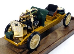 Ford 999 Rekord 1905 Lake Saint Clair 1/43 Brumm R25 Made in Italy (Branco)  - foto principal 1