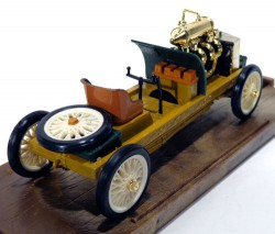 Ford 999 Rekord 1905 Lake Saint Clair 1/43 Brumm R25 Made in Italy (Branco)  - foto principal 2