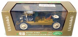 Ford 999 Rekord 1905 Lake Saint Clair 1/43 Brumm R25 Made in Italy (Branco)  - foto principal 3
