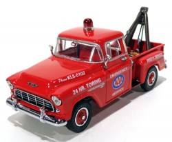 Pickup Chevy 3100 1955 AAA Towing & Service 1/43 Matchbox Collectibles YRS01  - foto principal 1