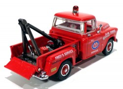 Pickup Chevy 3100 1955 AAA Towing & Service 1/43 Matchbox Collectibles YRS01  - foto principal 2