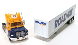 Ford Aeromas Tractor Trailer Roadway Express INC 1/97 Matchbox Collectibles DYM38007  - foto principal 2