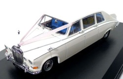 Daimler DS420 Limousine Wedding Car 1/43 Oxford Models DS001W  - foto principal 1