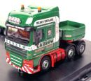 Caminhão DAF 105 SS Low Loader Cadzone 1/76 Oxford  - foto 4
