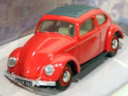Volkswagen 1951 SplitWindows REd 1/43 Matchbox Dinky Toys Collection DY06-C  - foto principal 1