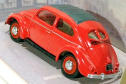 Volkswagen 1951 SplitWindows REd 1/43 Matchbox Dinky Toys Collection DY06-C  - foto principal 2