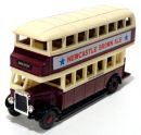 Onibus Leyland Titan TD1 1930 New Castle 1/76 Matchbox Models of Yesteryear Y5-c