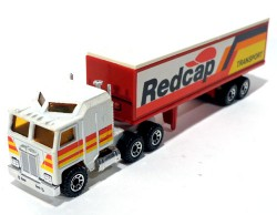 Caminhão Kenworth and Articulated Traller Redcap 1/90 Matchbox Convoy CY8  - foto principal 1