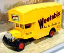 Caminhão Morris Courie 1931 Weetabix 1/59 Matchbox Models of Yesteryear Y-31B