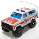 Chevy Blazer 4x4 Sheriff 1/64 Matchbox MB50