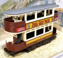 Preston Type Tram 1920 Zebra Grate Polish 1/87 Matchbox Models of Yesteryear Y-15D