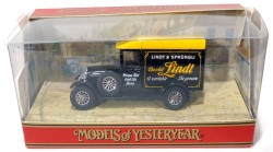 Morris Light Van 1929 Chocolat Lindt 1/39 Matchbox Models of Yesteryear Y-47  - foto principal 2