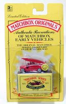 Dennis F.2 Fire Engine Matchbox Originals Authentic Recreations N 9