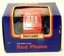 The Direct Line Red Phone Matchbox Made in UK  - foto 2