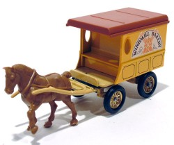 Horse Drawn Delivery Van Windmill Bakery Lledo Days Gone  - foto principal 1