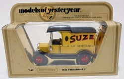Ford Model T 1912 Suze 1/35 Matchbox Models Of Yesteryear Y-12  - foto principal 2