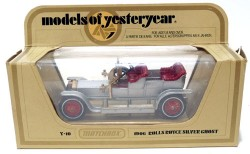 Rolls Royce Silver Ghost 1906 1/51 Matchbox Model of Yesteryear Y-10  - foto principal 2