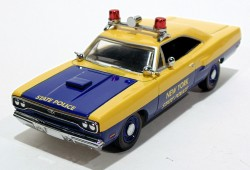 Plymouth Roadrunner 1970 New York State Police 1/43 Matchbox Collectibles dym96664  - foto principal 1