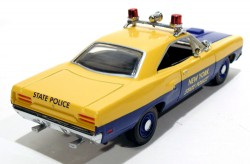 Plymouth Roadrunner 1970 New York State Police 1/43 Matchbox Collectibles dym96664  - foto principal 2