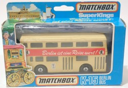 The Londoner Berlin Bus Matchbox Superkings K-15 Made in England  - foto principal 2