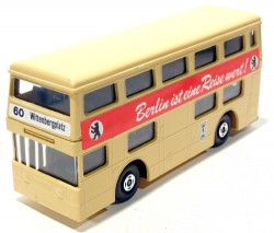 The Londoner Berlin Bus Matchbox Superkings K-15 Made in England  - foto principal 1