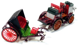De Dion Bouton Steam Car 1894 1/43 Rio Models #30  - foto principal 3