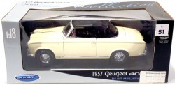 peugeot 403 1957 1/18 Welly  - foto principal 5