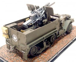 T19 - 105 MM HOWITZER MOTOR CARRIAGE USA 1943 1/43 ATLAS  - foto principal 3