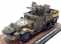 T19 - 105 MM HOWITZER MOTOR CARRIAGE USA 1943 1/43 ATLAS  - foto principal 1