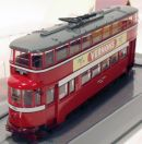 Feltham Tram Leeds City Transport Dept 1/76 Corgi OM40502