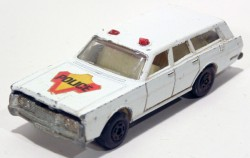 Mercury Police Car Matchbox Superfast nr 65 Made in england  - foto principal 1