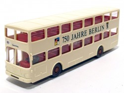 Onibus Doubledeck MAN SD 200 1/87 Wiking  - foto principal 1
