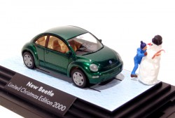 New Beetle Chistmas Edition 1/87 Wiking  - foto principal 1