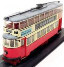 Bonde Double Deck Feltham Tram (UCC) 1931 London 1/87 Atlas
