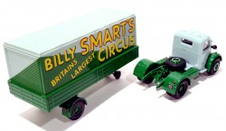 Caminhão Bedford Articulated Truck Billy Smart's Circus 1/50 Corgi 97300  - foto principal 3