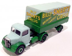 Caminhão Bedford Articulated Truck Billy Smart's Circus 1/50 Corgi 97300  - foto principal 4