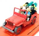 Jeep Willys 1943 Tintin 1/43 Atlas
