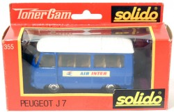 Peugeot J7 Bus Air Inter 1/43 Solido Made in France  - foto principal 3