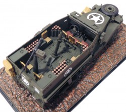 Halftrack M21-81 MM Mortar Carrier USA 1945 1/43 Atlas  - foto principal 3
