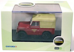 Land Rover Series II SWB Canvas British Rail 1/43 Oxford  - foto principal 3