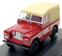 Land Rover Series II SWB Canvas British Rail 1/43 Oxford  - foto principal 1