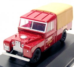 Land Rover Serie 1 109 Canvas Britsh Railway 1/43 Oxford  - foto principal 1
