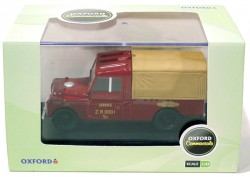 Land Rover Serie 1 109 Canvas Britsh Railway 1/43 Oxford  - foto principal 3