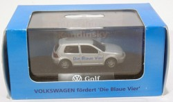 VW Golf 2 doors prata 1/87 Wiking  - foto principal 2