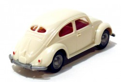 VW Fusca 1200 Double Windows Beje 1/87 Wiking  - foto principal 2