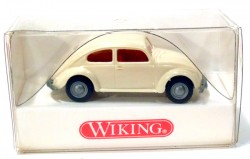 VW Fusca 1200 Double Windows Beje 1/87 Wiking  - foto principal 3